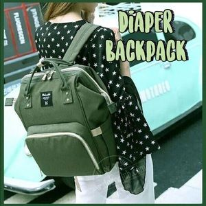 DOKOCLUB 💚 Army Green Diaper Bag Backpack
